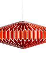Wild & Wolfe Zodiak Paper Lampshade Goldfish Orange