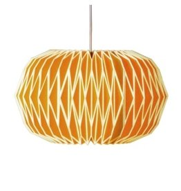 Alena Paper Lampshade English Mustard