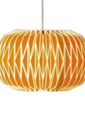 Wild & Wolfe Alena Paper Lampshade English Mustard
