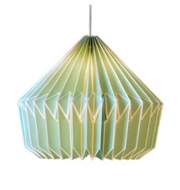 Caspian Paper Lampshade Swedish Green