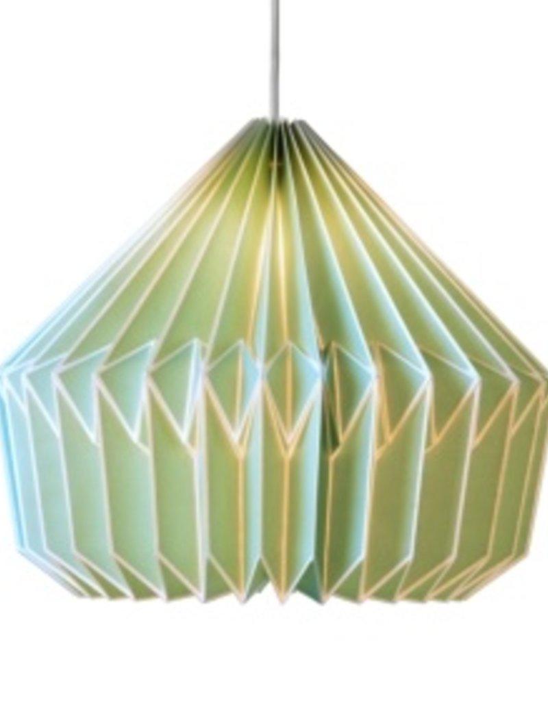 Wild & Wolfe Caspian Paper Lampshade Swedish Green
