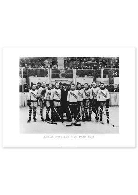 Edmonton Eskimos Hockey Team 1920-1921 Poster
