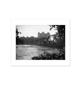 Low Level Bridge With Train 1915