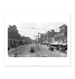 Jasper Avenue Looking West 1913