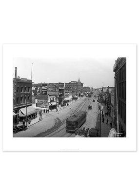 Jasper Avenue East from Queen's Avenue 1914