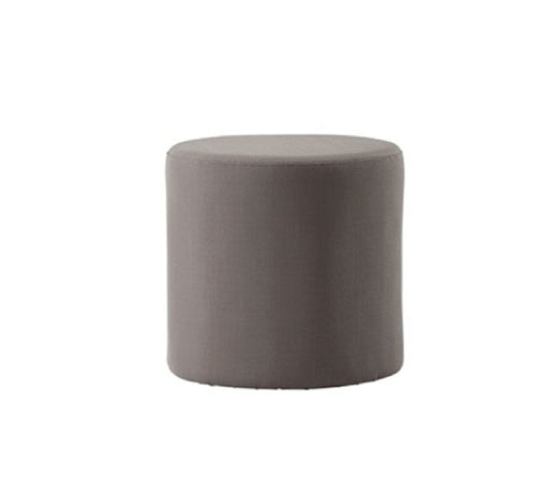 REST SIDE TABLE/FOOTSTOOL IN BROWN