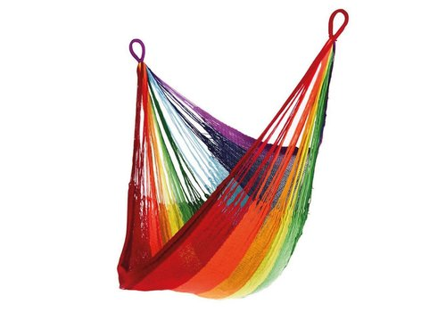 YELLOW LEAF RAINBOW HANGING CHAIR