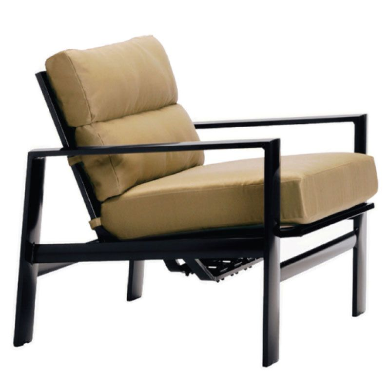 BROWN JORDAN PARKWAY CUSHION MOTION LOUNGE CHAIR WITH ...