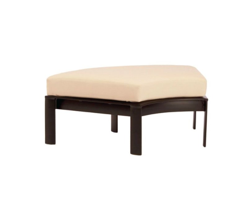 PARKWAY CURVILINEAR 60 DEGREE OTTOMAN WITH GRADE A FABRIC