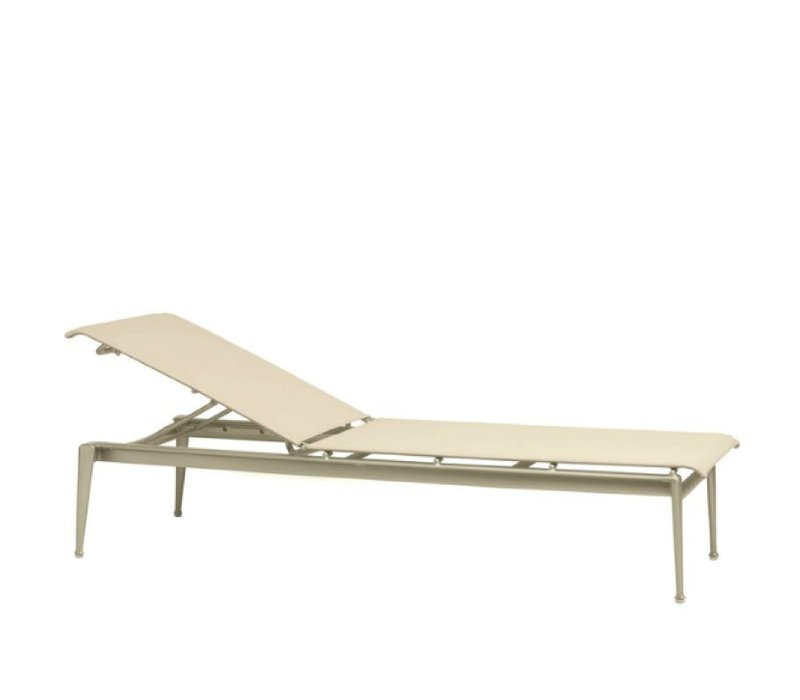 FLIGHT STACKING ARMLESS CHAISE WITH GRADE A SLING