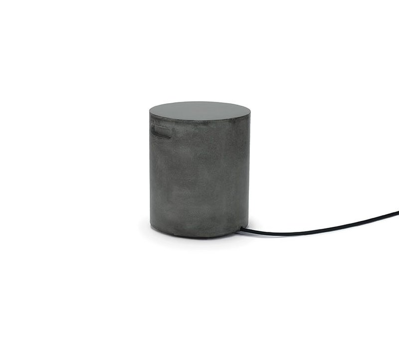 HIDEOUT STOOL, SIDE TABLE OR TANK COVER, GRAPHITE