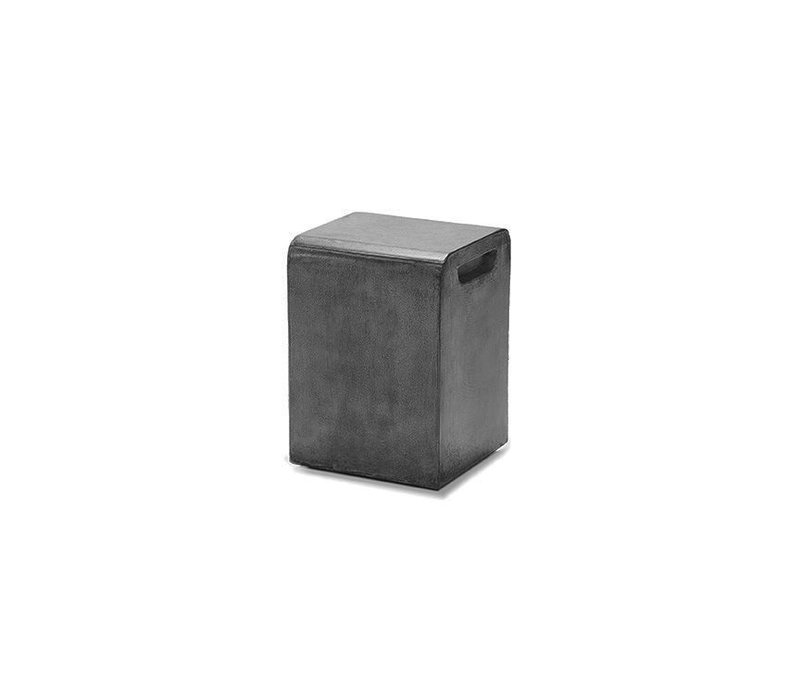 LOOK STOOL OR SIDE TABLE, GRAPHITE (discontinued)
