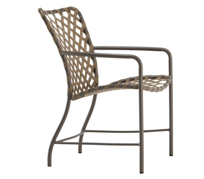 TAMIAMI ARM CHAIR WITH SUNCLOTH STRAP