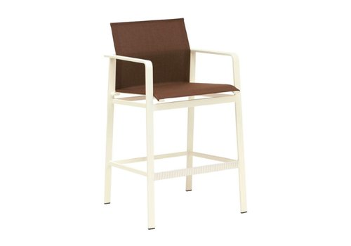 BROWN JORDAN SWIM BAR STOOL WITH GRADE A SLING
