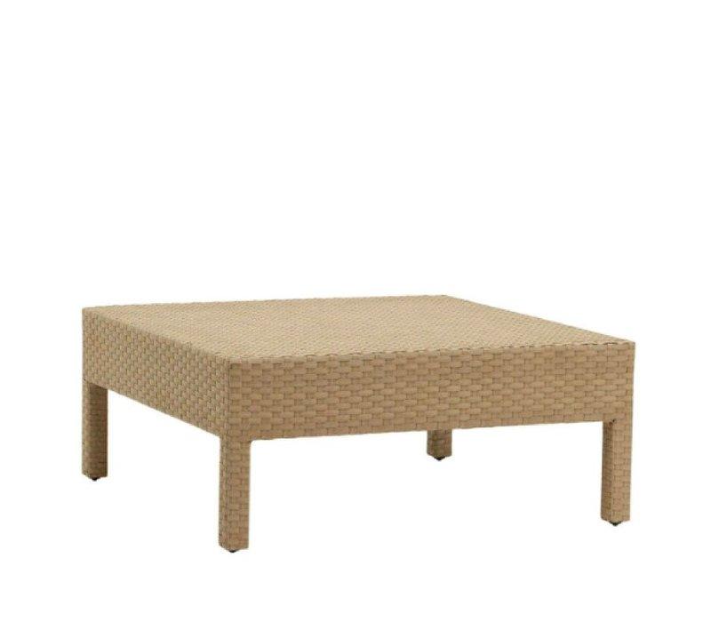 ELEMENTS CORNER TABLE IN MOCA RESINWEAVE