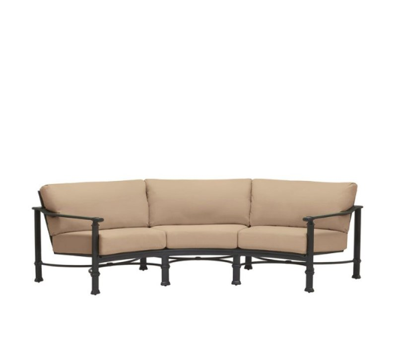FREMONT CURVED SOFA WITH GRADE A FABRIC
