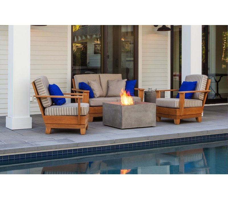 RISE BIOETHANOL FIRE PIT IN NATURAL