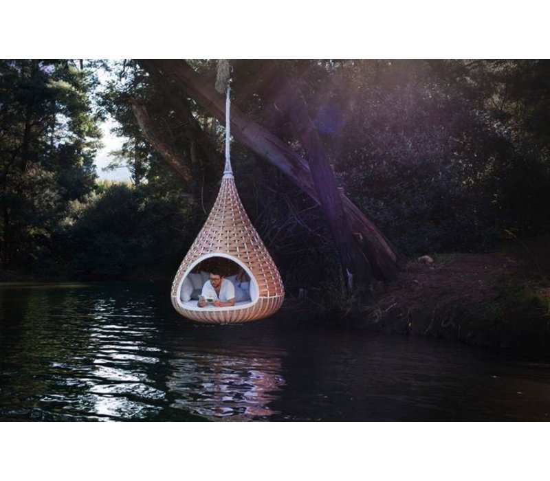 NESTREST HANGING LOUNGER IN NATURAL WEAVE