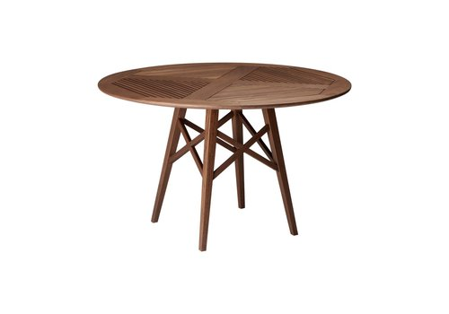 JENSEN LEISURE FURNITURE OPAL 48 ROUND DINING TABLE