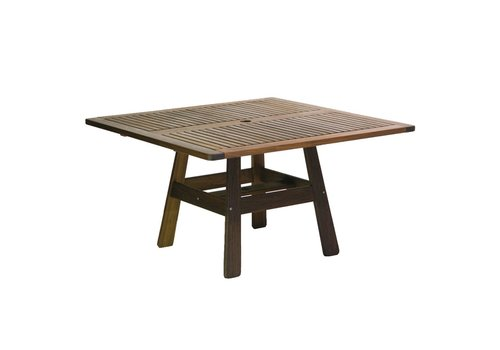 JENSEN LEISURE FURNITURE BEECHWORTH SQUARE 53 X 53 DINING TABLE