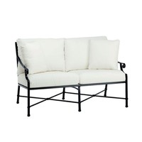 VENETIAN LOVE SEAT WITH CUSHIONS IN GRADE A FABRIC