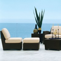 FUSION CENTER SECTIONAL IN BRONZE WITH GRADE A FABRIC