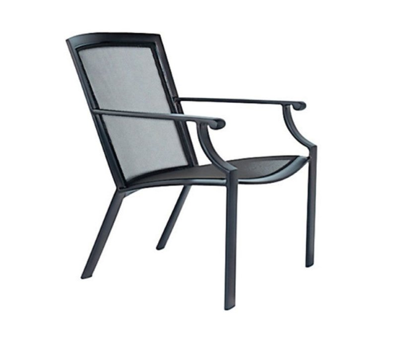COAST LOUNGE CHAIR WITH PARABOLIC SLING
