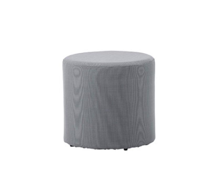 REST SIDE TABLE/FOOTSTOOL IN GREY
