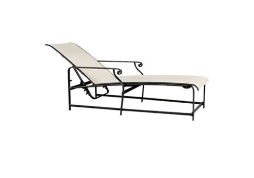 BROWN JORDAN AEGEAN ADJUSTABLE CHAISE WITH GRADE A SLING