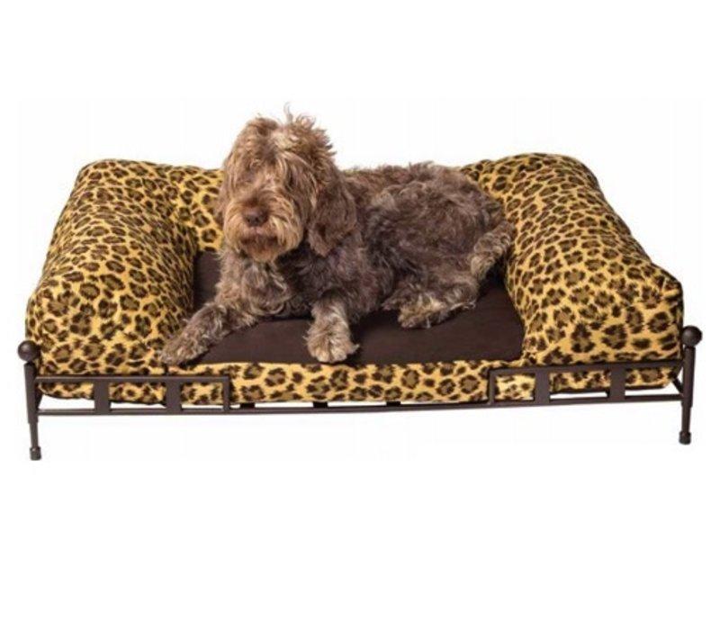 SHAKESPEARE DOG BED GRANDE IN EPOXY COATED STEEL