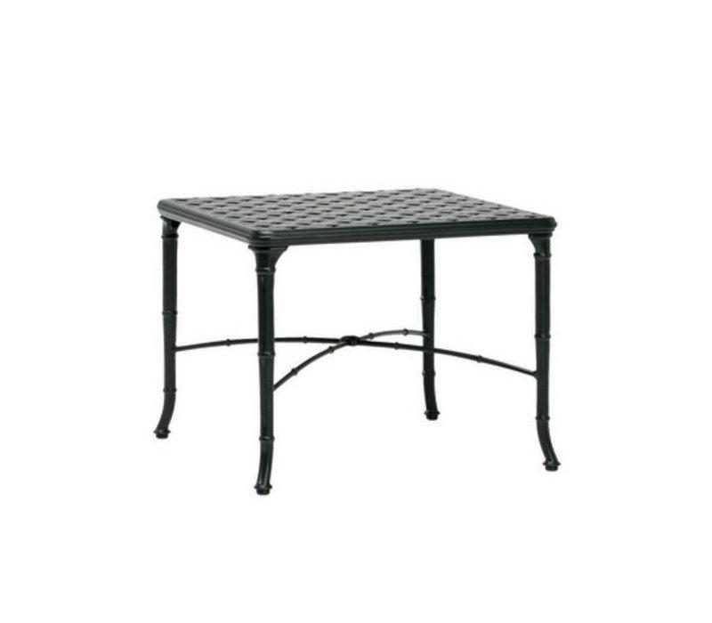 CALCUTTA 26x26 CAST ALUMINUM CORNER TABLE