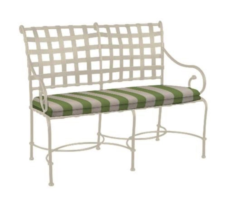 FLORENTINE SETTEE WITH GRADE A FABRIC