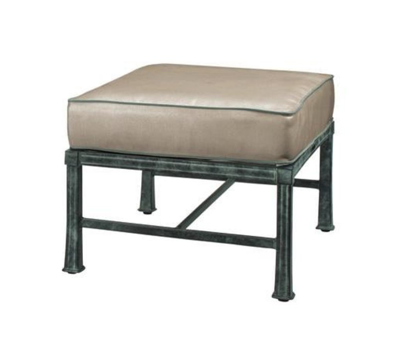 HAREWOOD OTTOMAN W/ LOOSE CUSHIONS - GRADE A