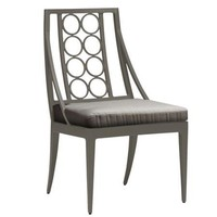 LUNA SIDE CHAIR WITH CUSHION IN GRADE A FABRIC