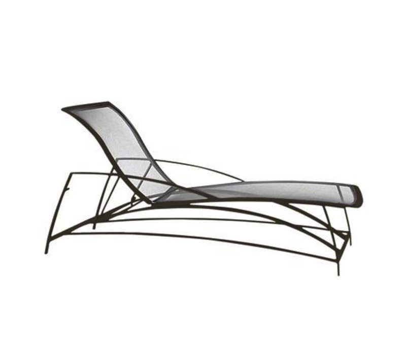 WAVE ADJUSTABLE CHAISE WITH PARABOLIC SLING