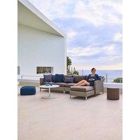 CONNECT CHAISE LOUNGE MODULE, LEFT IN TAUPE