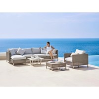 CONNECT CHAISE LOUNGE MODULE, RIGHT IN TAUPE