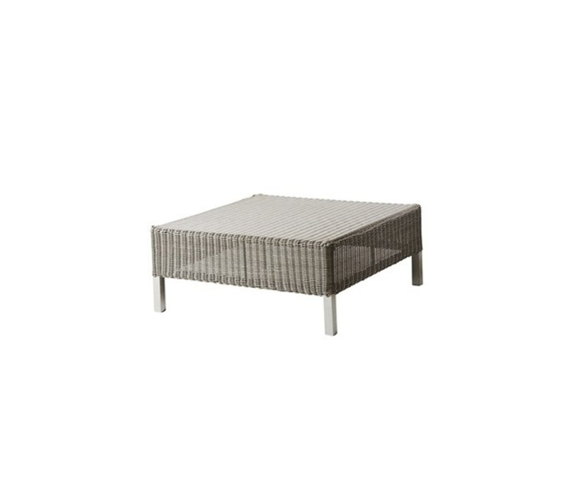 CONNECT FOOTSTOOL IN TAUPE