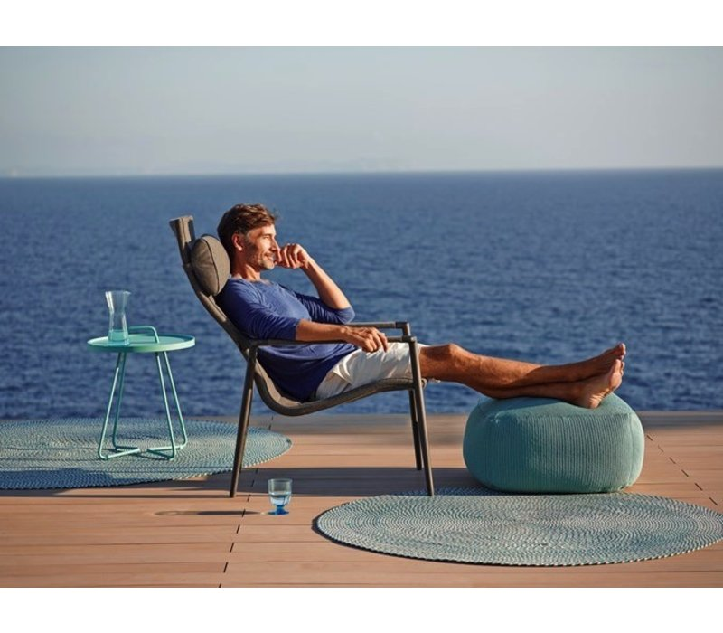 CORE HIGHBACK CHAIR IN GREY CANE-LINE SOFTTOUCH
