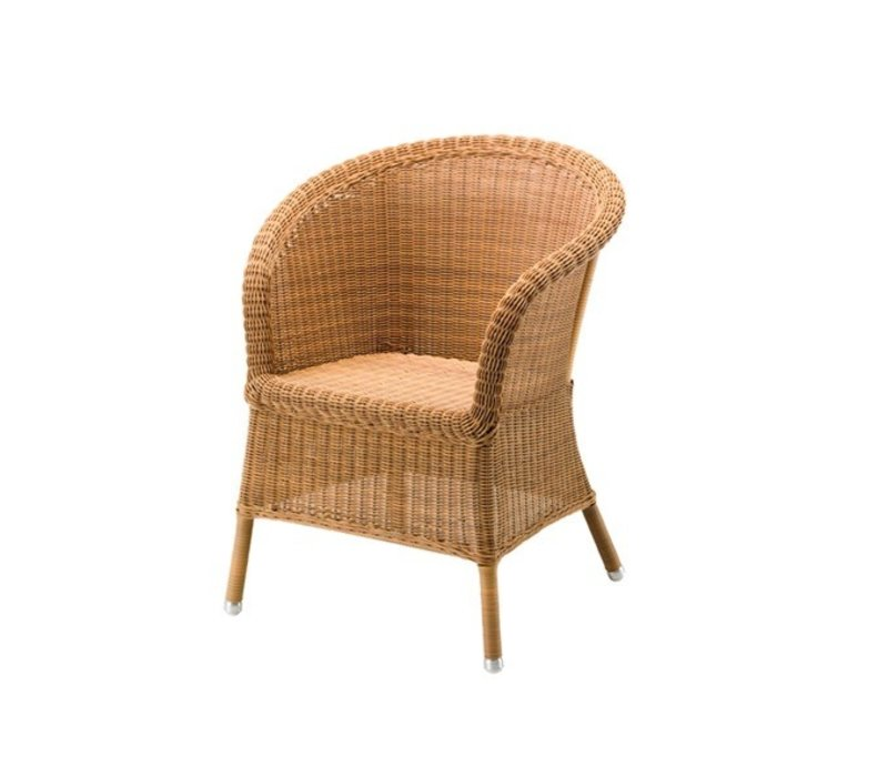 DERBY ARM CHAIR IN NATURAL CANE-LINE FIBRE