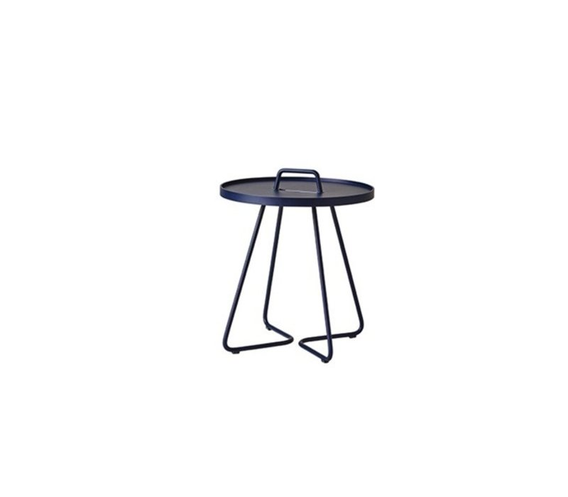 ON-THE-MOVE SIDE TABLE, SMALL IN MIDNIGHT BLUE