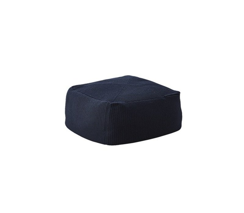 DIVINE FOOTSTOOL IN MIDNIGHT BLUE