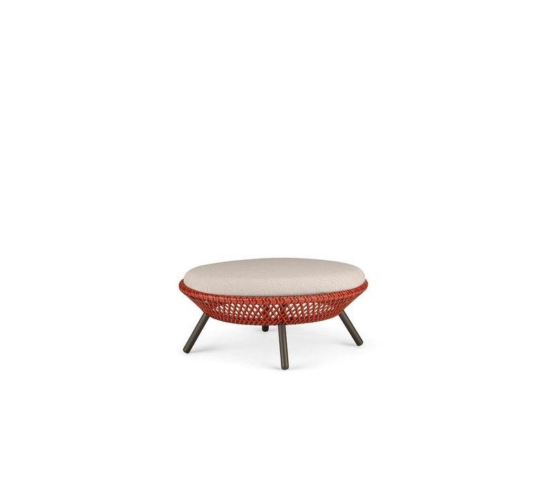 AHNDA FOOTSTOOL / COFFEE TABLE IN ELEMENTAL WEAVE