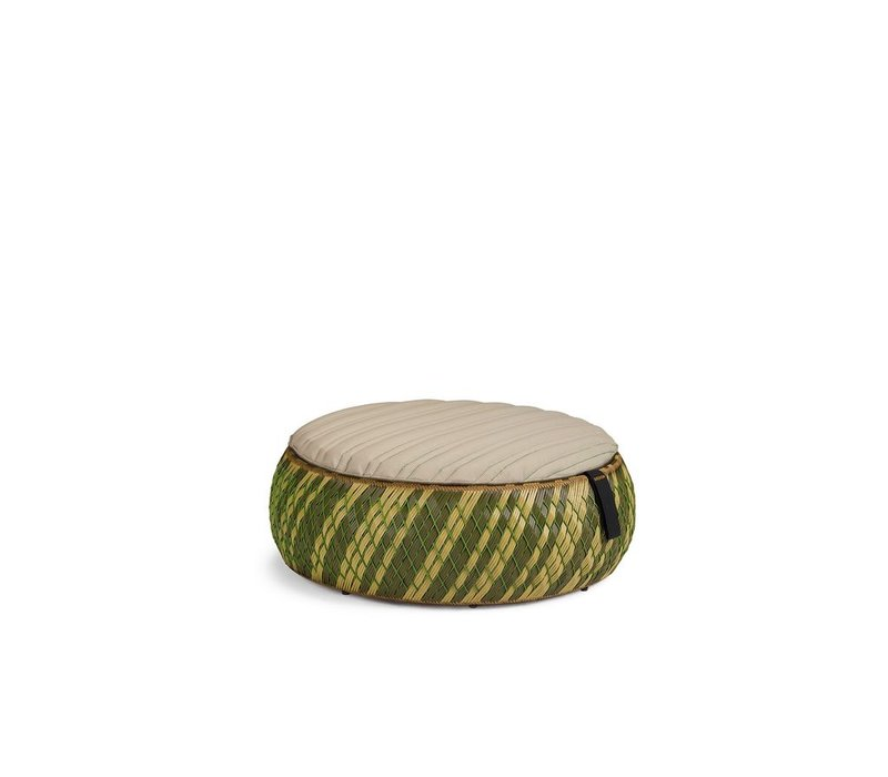 DALA 38 INCH FOOTSTOOL/COFFEE TABLE IN COLOR GRASS