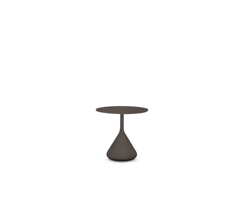SATELLITE 16 INCH ROUND SIDE TABLE IN VULCANO