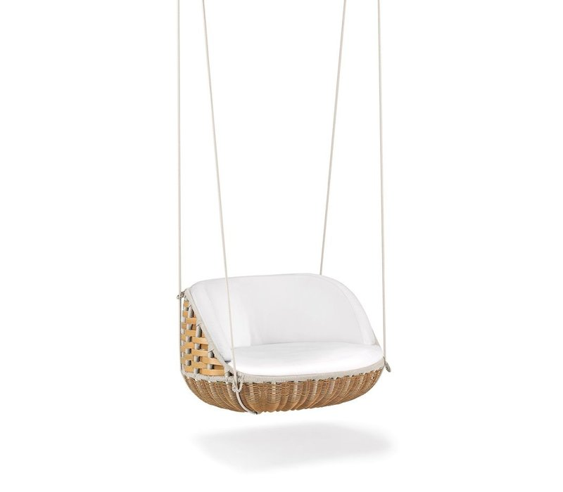 SWINGME HANGING LOUNGE CHAIR IN CHALK