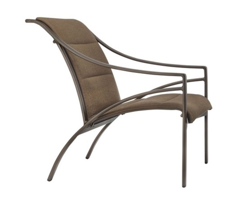 PASADENA PADDED SLING LOUNGE CHAIR WITH GRADE A SLING