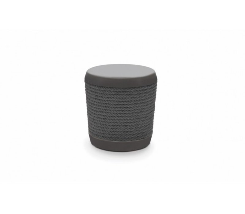 LOOP STOOL OR SIDE TABLE - GRAPHITE