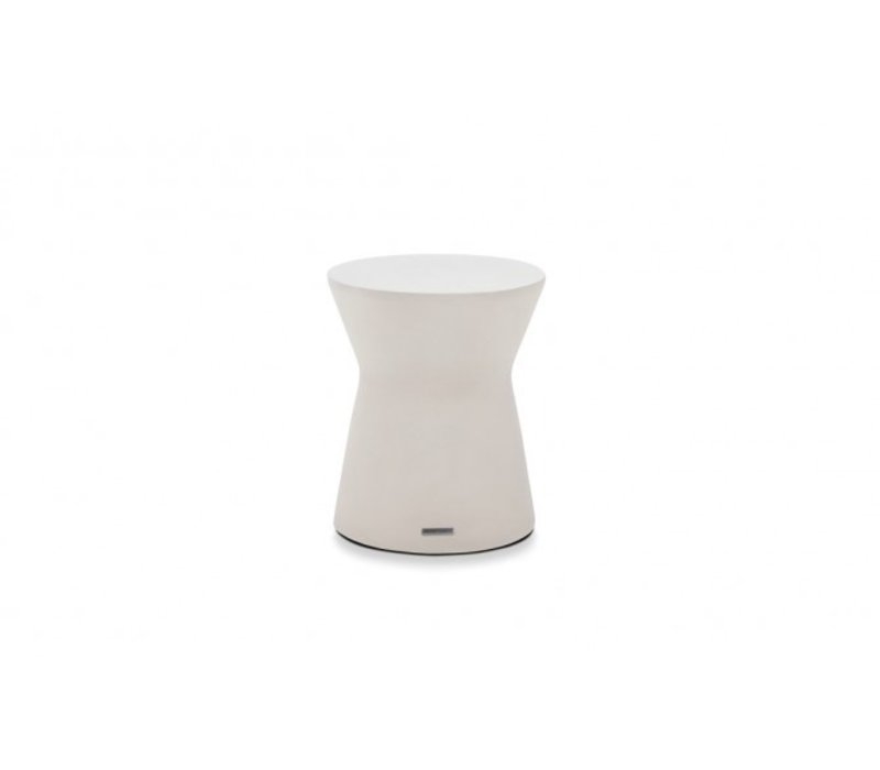 PIVOT STOOL OR SIDE TABLE, BONE