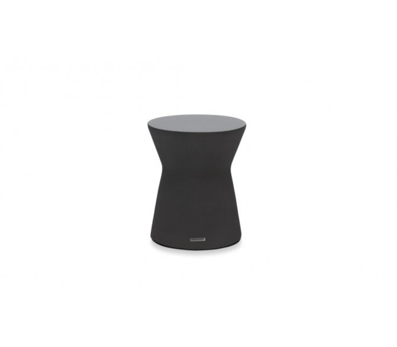 PIVOT STOOL OR SIDE TABLE, GRAPHITE